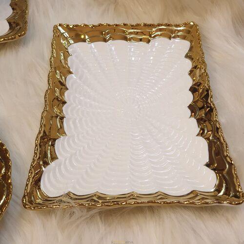Elegant 5 Parça Gold Sunumluk Set