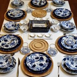 Dekor Arya - 76 Parça Arin Yemek - Kahvaltı Takımı