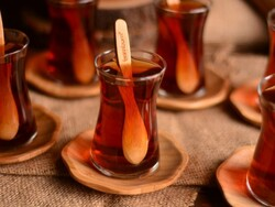 Bambum - Bambum Pappi 6'lı Çay Tabağı