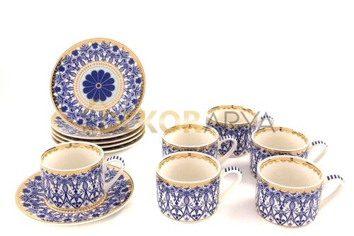 Blue dream 6lı Çay Fincanı Seti