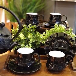 Deco Vien - Çay Fincanı Mermer Siyah