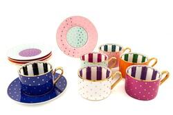 Mikasa Moor - Cheerful 6lı çay fincan seti
