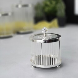 Esmer Hediyelik - Dekoratif Kutu - Silver