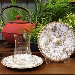 Koleksiyon - Dervish Çay Set 6'lı Irismano Altın