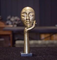 Lamedore - Gold Düşünen İnsan Figürü
