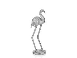 Lamedore - Gümüş Dekoratif Flamingo
