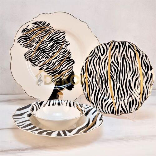 Freesia Porselen Yemek Takımı 6 Kişilik