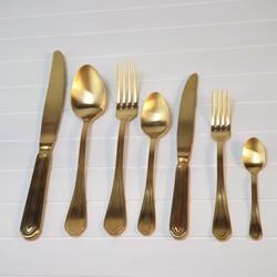The Mia - Gazelle ÇKB 42 Parça - Scocht Gold