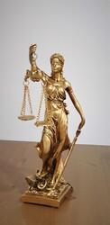 Dekor Arya - Gold Adalet Heykeli