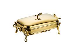 Dekor Arya - Gold Dik Isıtıcılı Sofra Servisi 2 Lt