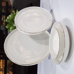 Mikasa Moor - Gold Modern 24 Parça Yemek Takımı
