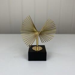 Dekor Arya - Gold Standlı Çubuk Dekoratif Obje Küçük