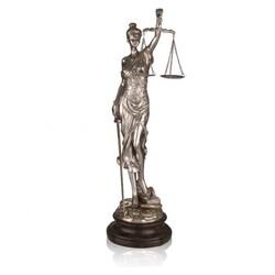 Dekor Arya - Gümüş Adalet Terazisi