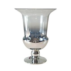 Dekor Arya - Gümüş Geçişli Vazo 28*23*13