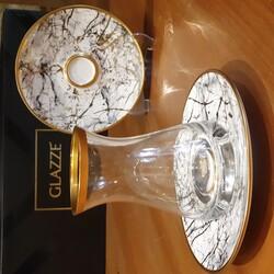 GLAZZE - Imperial Beyaz A La 12 Parça Çay Seti
