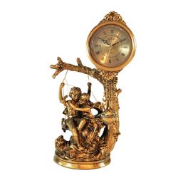 Porio - İnsan Figürlü Masa Saati 35*19 cm