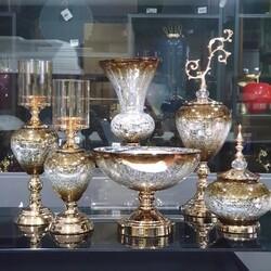 Esmer Hediyelik - Kahve Gold 6 Parça Salon Takımı