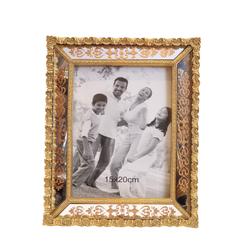 Dekor Arya - Kalp Gold Çerçeve 15*20