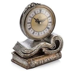 Porio - Kitap Figürlü Masa Saati 25*20 cm