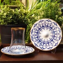 Koleksiyon - Koleksiyon Dervish Çay Set 6'lı Gonca