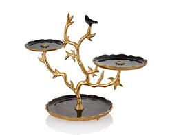 Lamedore - Love Bird Serisi Siyah 2'li Stand