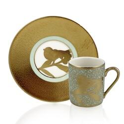 Dekor Arya - Peace Gold 6'lı Kahve Fincan Takımı
