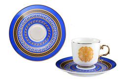 Lucky Art - Rosemary Bone 6'lı Kahve Fincan Takımı
