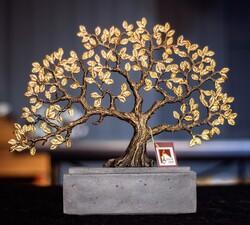GLAZZE - Shn Ağaç Obje 44X8X37 Cm