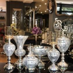 Esmer Hediyelik - Silver 6 Parça Salon Takımı