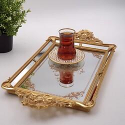 Esmer Hediyelik - Tepsi Gold 48.8*26*4.8 Cm