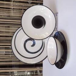 Dekor Arya - Tulu 24 Parca Porselen Yemek Takimi