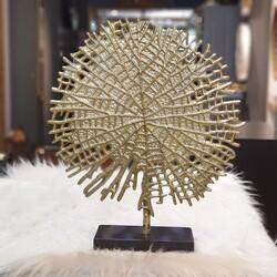 Lamedore - Upton Gold Yuvarlak Dekoratıf Obje
