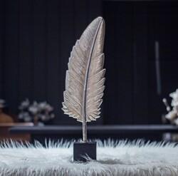 Lamedore - Gümüş Büyük Boy Yaprak