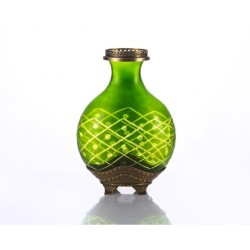 Dekor Arya - Pirinç Yeşil Vazo